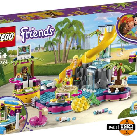 Lego Friends Andrea's Zwembadfeest 41374 nieuw in doos