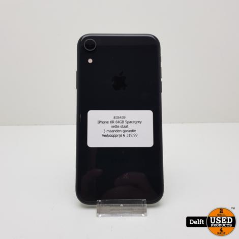 IPhone XR 64GB Black nette staat 3 maanden garantie