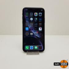 apple IPhone XR 64GB Black nette staat 3 maanden garantie