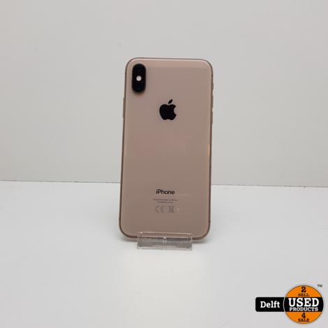 IPhone XS 64GB Gold nette staat 3 maanden garantie