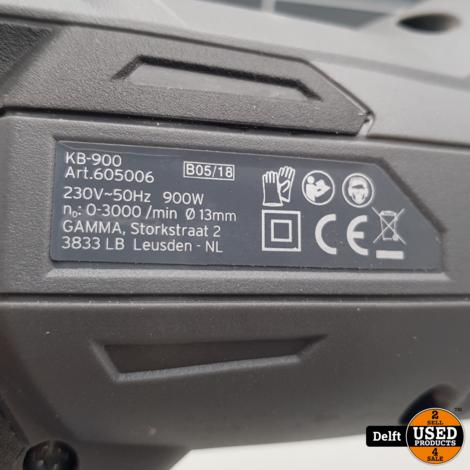 Gamma KB-900W boormachine zeer nette staat 1 maand garantie