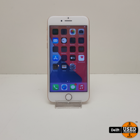 iPhone 8 256GB Gold nette staat 3 maanden garantie