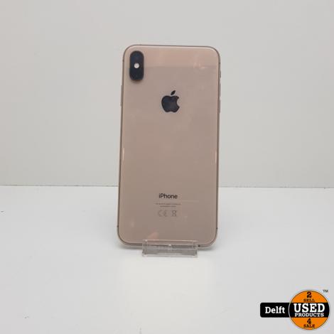 iPhone Xs Max 64GB Gold nette staat 3 maanden garantie