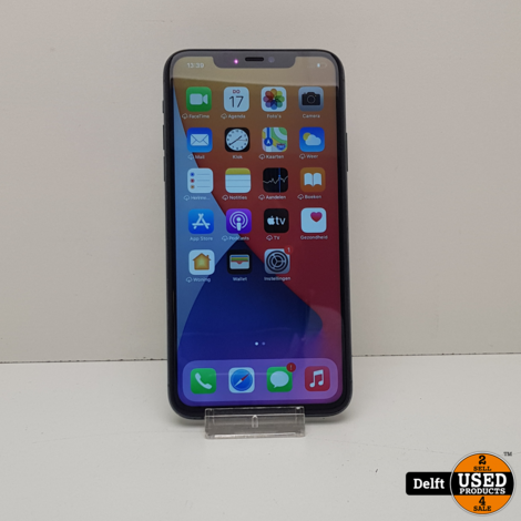 iPhone 11 Pro Max 64GB Midnight Green nette staat 3 maanden garantie