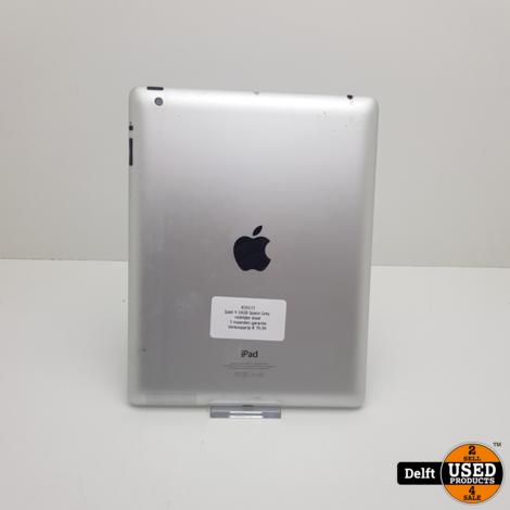 Ipad 4 16GB Space Grey redelijke staat 3 maanden garantie
