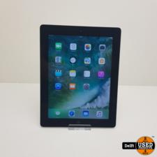 apple Ipad 4 16GB Space Grey redelijke staat 3 maanden garantie