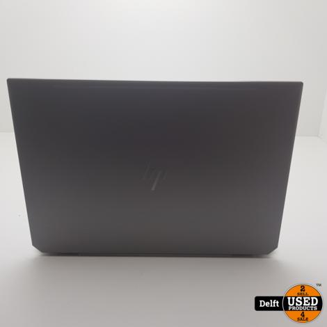 HP ZBook Studio G5 i7-8750H 16GB/500SSD nette staat 6 maanden garantie