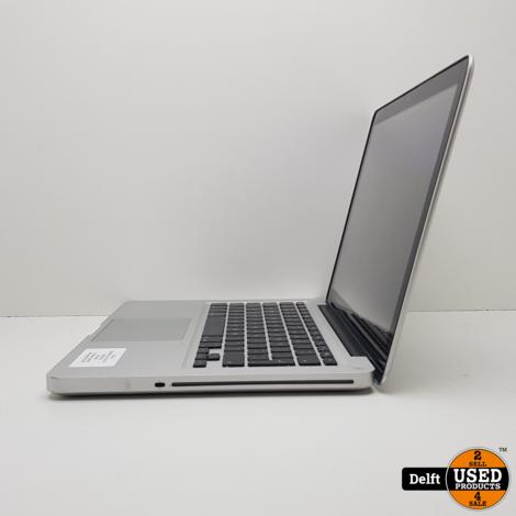 MacBook Pro mid 2012 i5 500GB HDD 4GB RAM 6 maanden garantie