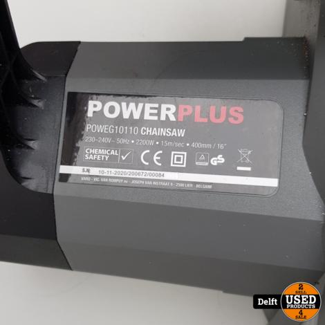 PowerPlus POWEG10110 Kettingzaag zo goed als nieuw 1 maand garantie