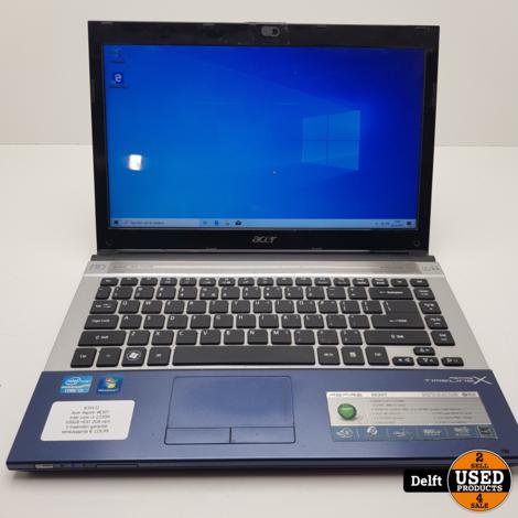 Acer Aspire 4830T intel core i3-2330M 500GB HDD 2GB ram 3 maanden garantie