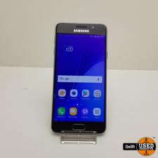 Samsung Samsung Galaxy A3 2016 16GB Black nette staat 3 maanden garantie