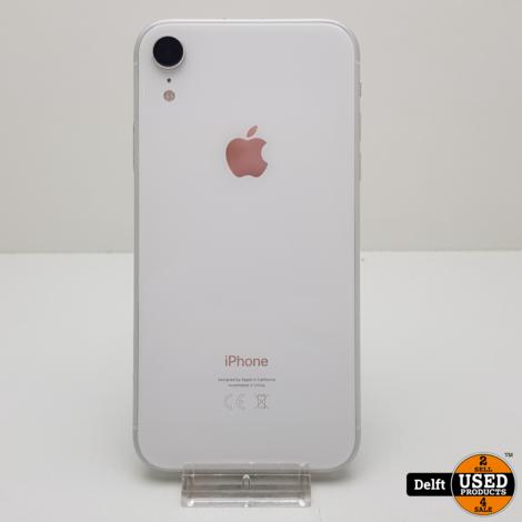 IPhone XR 64GB White zeer nette staat 3 maanden garantie