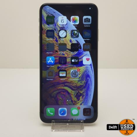 IPhone XS Max 64GB Silver zeer nette staat 3 maanden garantie