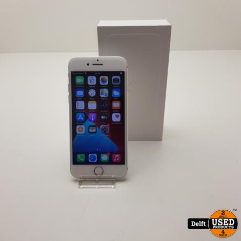 IPhone 7 128GB Silver zeer nette staat 3 maanden garantie