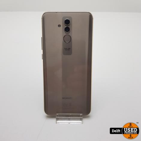 Huawei Mate 20 Lite 64GB Gold in nette staat met 3 maanden garantie!