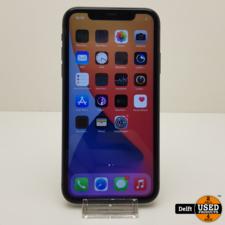apple iPhone 11 128GB Black zeer nette staat 3 maanden garantie