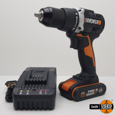 worx Worx WX102.9 accu schroeftol 20v met accu en oplader 1 maand garantie