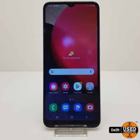 Samsung Galaxy A02s 32GB zeer nette staat 3 maanden garantie