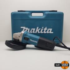 makita Makita 9558HNR haakse slijper zeer nette staat 1 maand garantie