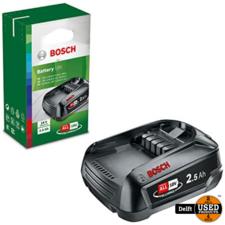 Bosch accu 18V 2.5 AH Li-Ion/PBA 18V 2.5AH nieuw in doos 1 maand garantie