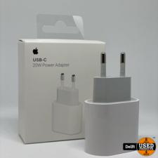 iPhone 20W USB-C Oplader stekker Third Party 1 jaar garantie