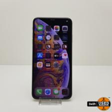 apple iPhone Xs Max 256GB Silver zeer nette staat 3 maanden garantie