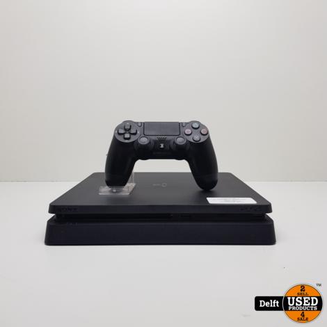 Playstation 4 slim 500GB incl controller en stroomkabel nette staat 1 maand garantie