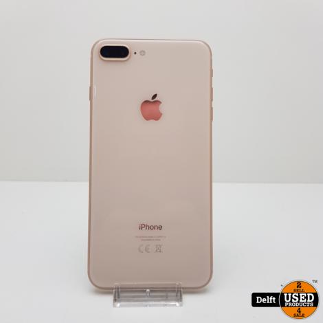 IPhone 8 Plus 64GB Gold nette staat 3 maanden garantie