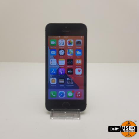 IPhone SE 16GB Spacegrey nette staat 3 maanden garantie
