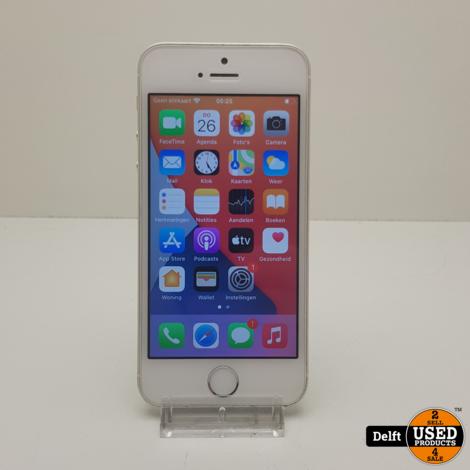 IPhone SE 64GB Silver redelijke staat 3 maanden garantie