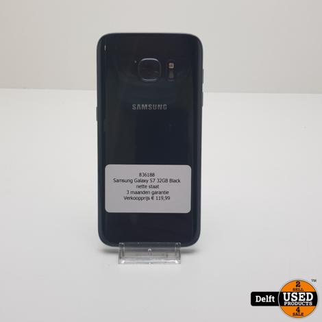 Samsung Galaxy S7 32GB Black nette staat 3 maanden garantie