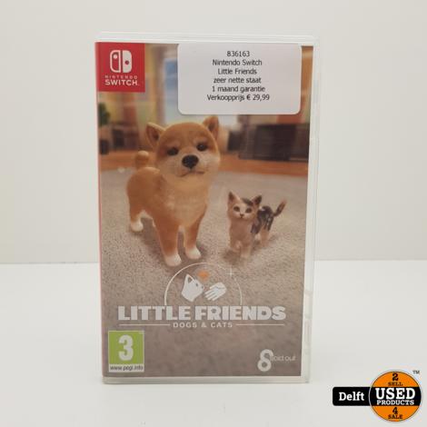Nintendo Switch  Little Friends zeer nette staat 1 maand garantie
