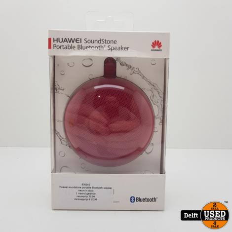 Huawei soundstone portable Bluetooth speaker nieuw in doos 1 maand garantie