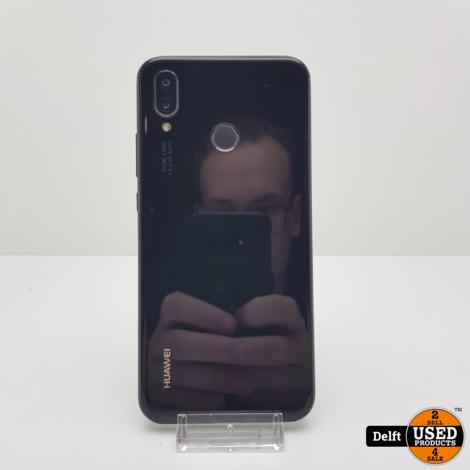 Huawei P20 Lite 64GB Black Dualsim nette staat 3 maanden garantie