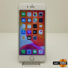 apple IPhone 6S 32GB Silver accu 86% nette staat 3 maanden garantie