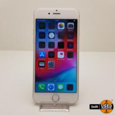 apple IPhone 6 64Gb Silver nette staat accu 85% 3 maanden garantie