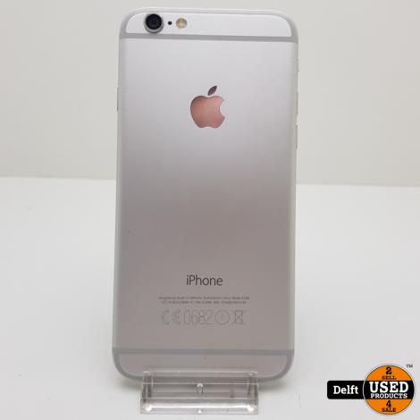 IPhone 6 64Gb Silver nette staat accu 85% 3 maanden garantie