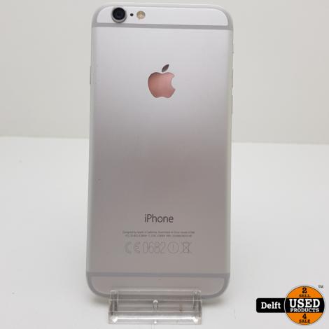 IPhone 6 64Gb Silver nette staat accu 96% 3 maanden garantie