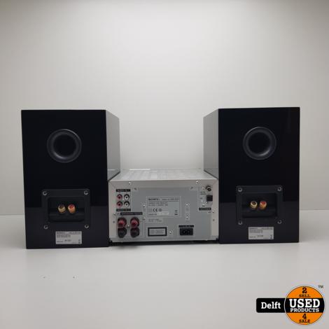 Sony CMT-g1iP audio set met CD speler nette staat incl AB 1 maand garantie