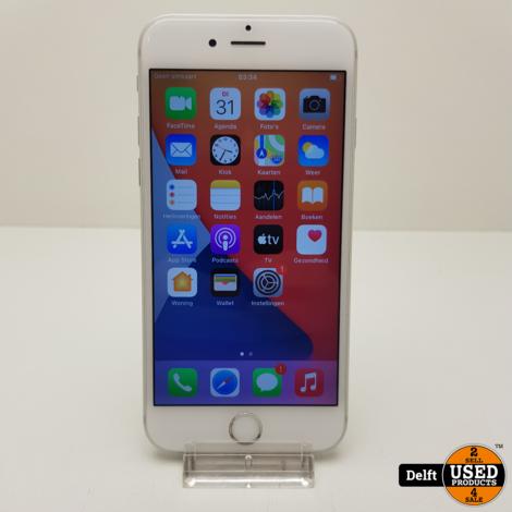 IPhone 6s 128GB Silver nette staat accu 82% 3 maanden garantie