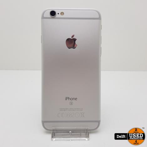 IPhone 6s 128GB Spacegrey nette staat accu 84% 3 maanden garantie