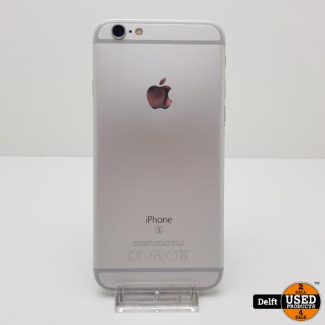 IPhone 6s 128GB Spacgrey nette staat accu 88% 3 maanden garantie
