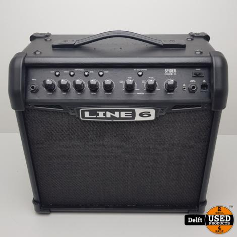Line 6 Spider 15 gitaar versterker 1 maand garantie