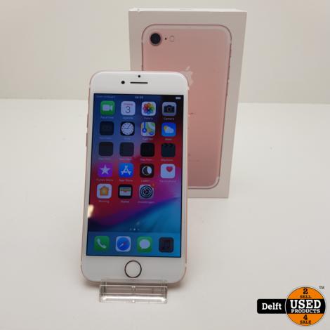IPhone 7 32GB Rosegold zeer nette staat 3 maanden garantie