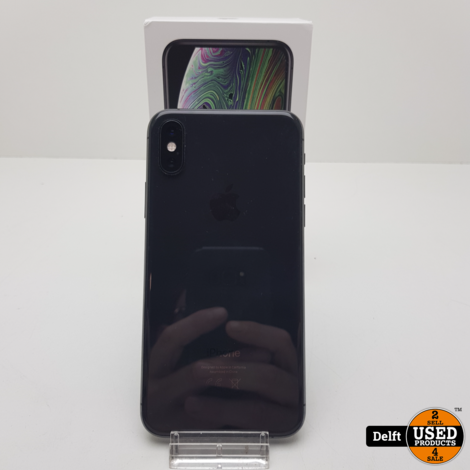 IPhone XS 64GB Spacegrey zeer nette staat  garantie tot 16-02-2022