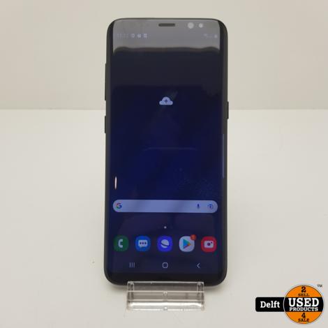 Samsung Galaxy S8 64GB Black nette staat 3 maanden garantie