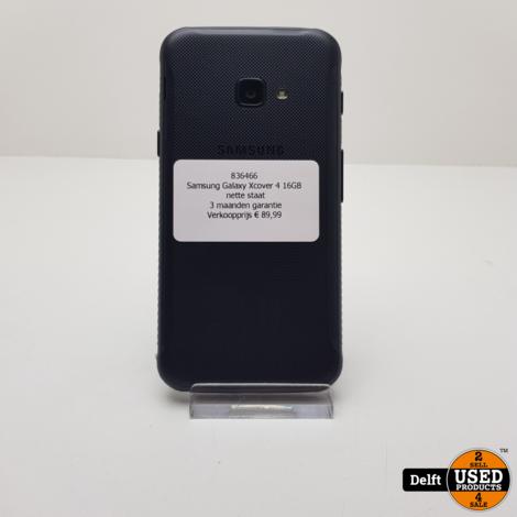 Samsung Galaxy Xcover 4 16GB nette staat 3 maanden garantie
