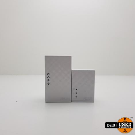 Asus PL-N12 Wireless + Powerline Kit zeer nette staat 1 maand garantie