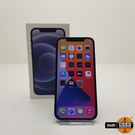 IPhone 12 64GB Black garantie tot 25-11-2022