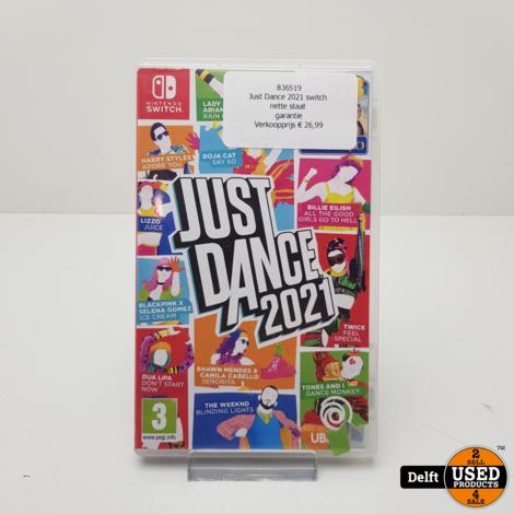 Just Dance 2021 switch nette staat garantie